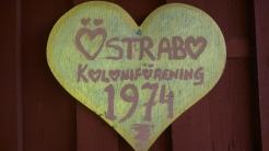 Östrabo koloniträdgård grundades 1974